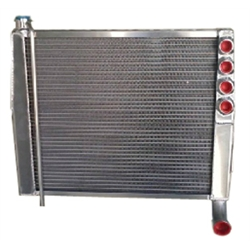 Saldana Racing Products SRS 15 CFBT NH Big Tube Narrowed Hood Radiator