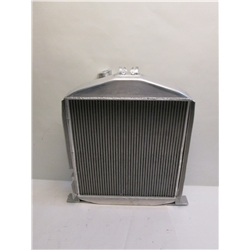 Garage Sale - 4-1/2 Inch Chopped 1932 Lo-Boy Aluminum Radiator