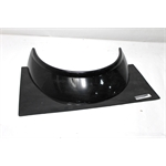 Garage Sale - Dominator Formed Rockguard Panel, Black, 4.5 Inches High
