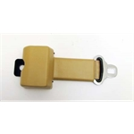 Garage Sale - Push Button Retractable Lap Belt, Tan