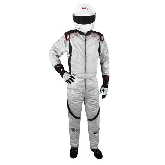 Bell Apex GP Racing Suit-Silver