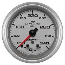 Auto Meter 7756 Ultra-Lite II Digital Stepper Motor Oil Temp Gauge