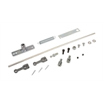 Edelbrock 1032 94 Carb Throttle Linkage Rod Kit, Dual Carb, Standard