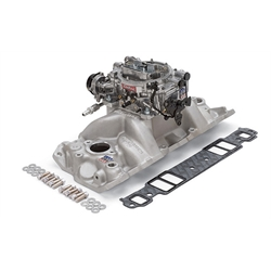 Edelbrock 2004 Performer Single-Quad Intake Manifold/Carburetor Kit