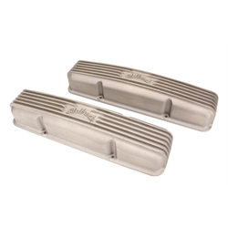 Edelbrock 41459 Classic Small Block Chevy Valve Cover, Satin
