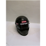 Garage Sale - Simpson Speedway RX SA2010 Helmet, Black, Size 7