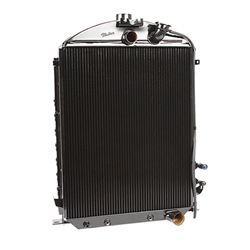 Walker C-Ac487-2 Cobra 1930-31 Model A Radiator/Condenser Chevy Engine