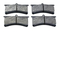Wilwood 15E-6100K Superlite Poly-E Brake Pads, Set/4