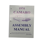 OER LA-0080 1974 Camaro Assembly Manual
