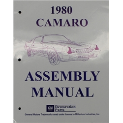 1980 Camaro Assembly Manual