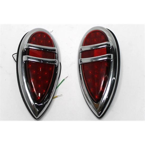 1938-1939 Lincoln Zephyr LED Tail Lights