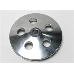 Garage Sale - Single Groove Power Steering Pump Pulley, Polished