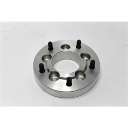 Garage Sale - Aluminum 1928-35 Ford Wire Wheel Adapters, 5 x 4-1/2 Inch