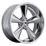 Boyds Wheels BC1-886545P Junkyard Dog 18x8 Polished Wheel, 5 on 4-1/2
