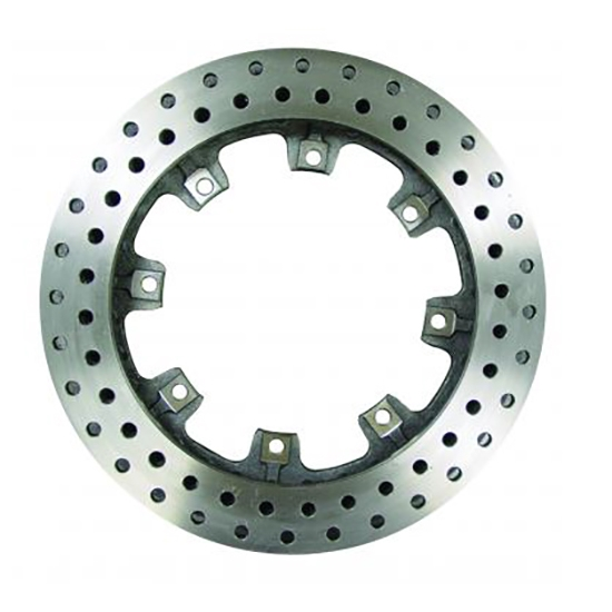 Afco 6640123 Drilled Pillar Vane Iron Brake Rotor, 11.75 x 1 Inch