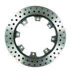 Afco 6640123 Drilled Pillar Vane Iron Brake Rotor, 11.75 x 1 Inch