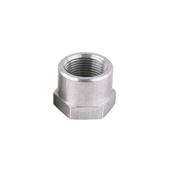 Threaded Aluminum Weld Bung Fitting, 1 Inch NPT Female