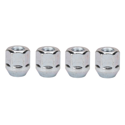 Gorilla Automotive 90077B 7/16-20 Tall Acorn Lug Nuts 60 Deg Taper, 4/Pack