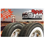 Radir Cheater Slicks, 7-75 - 15 Inch