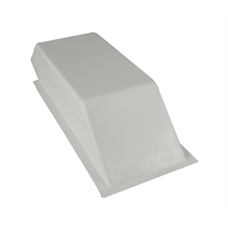 Tunnel Ram III Fiberglass Hood Scoop