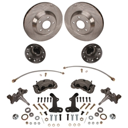 1964-72 GM A, F, X Body 13 Inch Big Brake & 2 Inch Dropped Spindle Kit