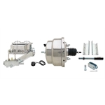 MBM 55-57 Fullsize Chevy Brake Booster Kit, 1-1/8 In Bore, SS