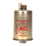 Reproduction Fuel Filter Cannister for 1969 Camaro, AC Logo