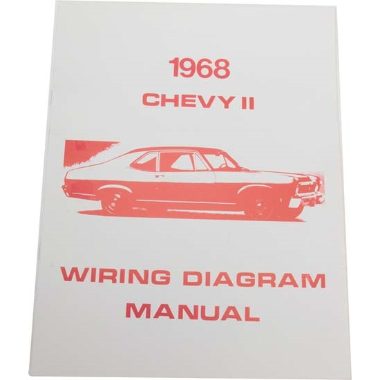 Jim Osborn MP0107 68 Chevy II Nova Wiring Diagrams