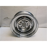 Garage Sale - O/E Style Hot Rod Steel Wheel, Chrome, 15X7, 5 On 4-1/2 Inch