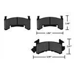 Garage Sale - GM Metric Brake Pad