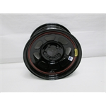 Garage Sale - Bassett D-Hole IMCA Approved 15 Inch Wheel, 15x8, 5on4-3/4, Black, 4.75 Backspace
