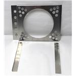 Garage Sale - Electric Fan Shroud, 15-18 Inch Tank-to-Tank x 17-20 Inch, 12 Inch Fan Hole