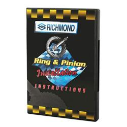 DVD - Richmond Gear Installation Instruction