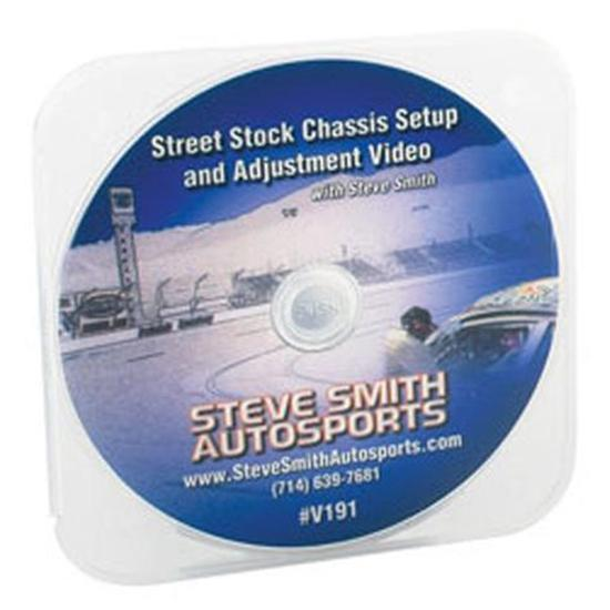 Steve Smith Autosports V191 DVD - Street Stock Chassis Set-Up