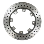 AFCO 6640113 11.75 Inch Pillar Vane Drilled Rotor, .810 Inch, LH Side