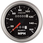 Auto Meter 3693 Sport-Comp II Mechanical Speedometer, 160 MPH, 3-3/8