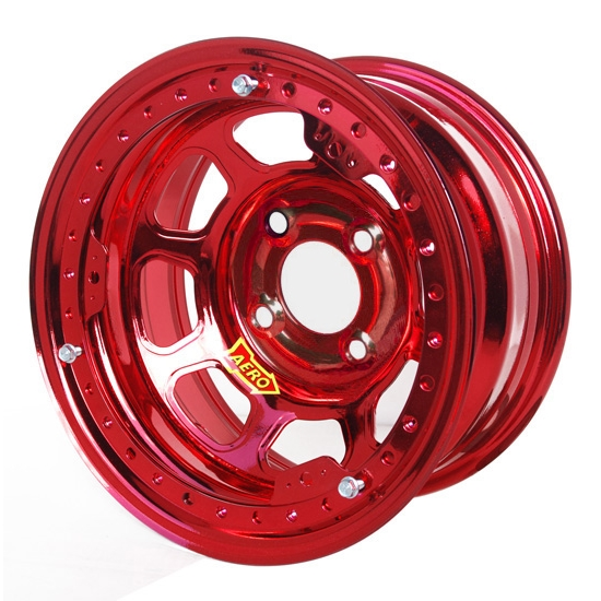 Aero 33-974035RED 33 Series 13x7 Inch Wheel, Lite, 4 on 4 BP 3-1/2 BS