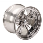 Rocket Racing Wheels 516150 Strike Wheel, 15 x 10, 5 on 4-3/4, 5 Inch Backspace