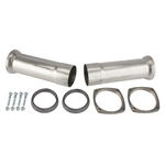 Dynatech  Muscle Maxx Stainless Header Reducer Cones, 3 Inch to 2-1/2 Inch