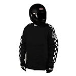 Finishline SFI-1 Qualifier Single-Layer Racing Jacket-Black Small
