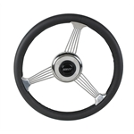 Grant 1050 Classic Banjo Steering Wheel, Black Leather Rim-14-3/4 Inch