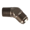 Aeroquip FCE2024 45° -10 AN Flare to 1/2 Inch NPT Pipe Adapter Fitting