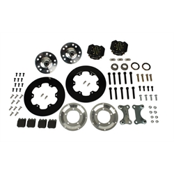 Total Performance Wilwood Bolt-On Front / Rear Brake Kit, Chevy Spindles