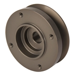 Flathead Alternator Pulley with Fan Mount