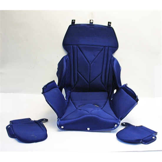 Garage sale kirkey 14 inch full containment seat cover blue for Garage seat nevers