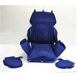 Garage Sale - Kirkey 14 Inch Full Containment Seat Cover, Blue