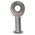 AFCO 10449 HD Shank Steel Heim Rod End, 5/8-18 LH Male, 1/2 Inch Hole