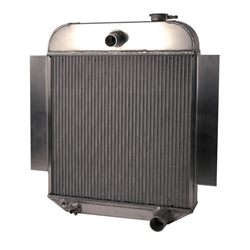 AFCO 1942-48 Chevy Aluminum Radiator, Chevy Engine