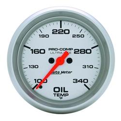 Auto Meter 4456 Ultra-Lite Digital Stepper Motor Oil Temperature Gauge