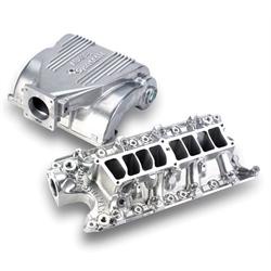 Holley 300-72S EFI Intake Manifold, Shiny Finish